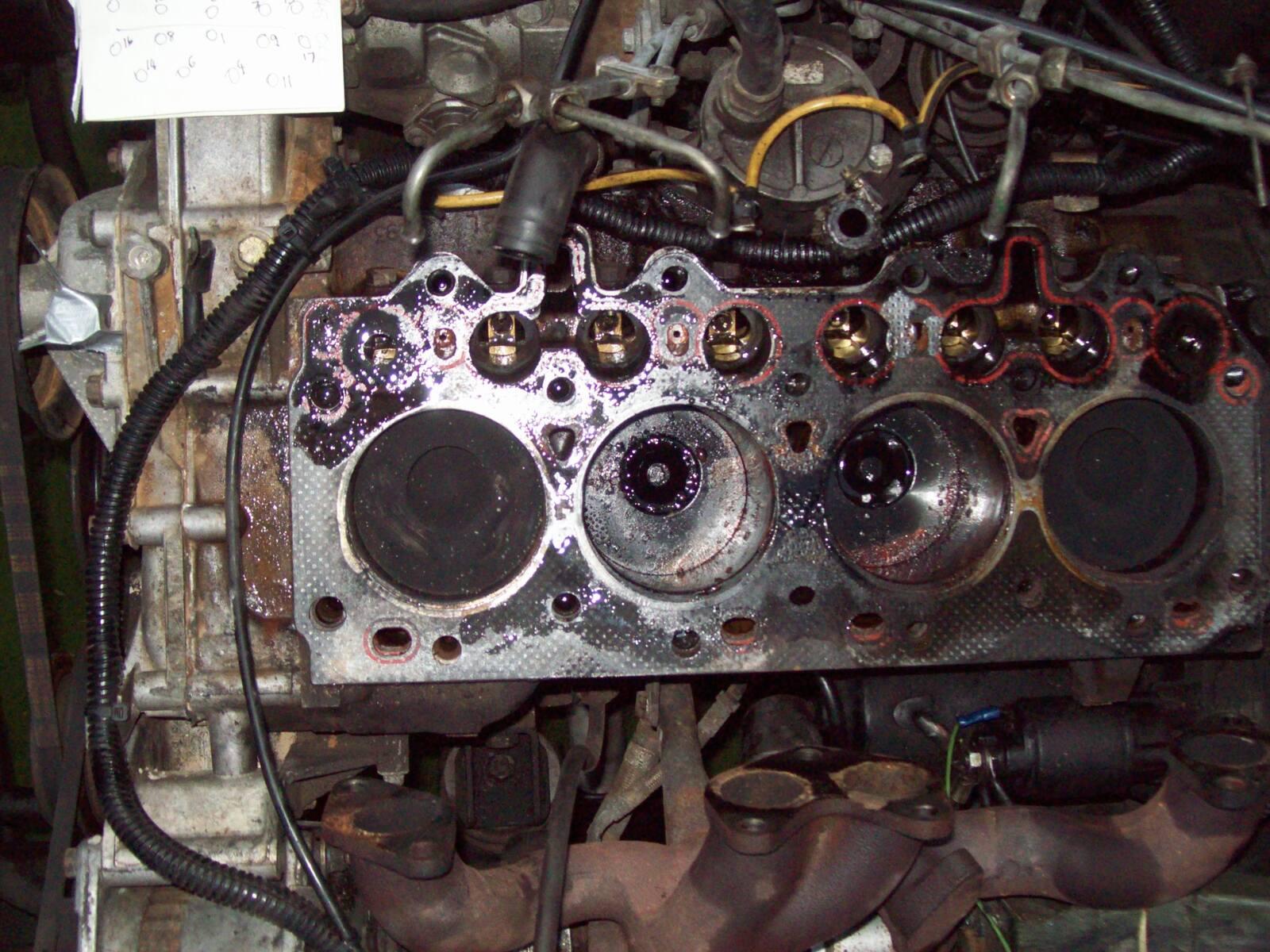 200 tdi head gasket replace pt 2