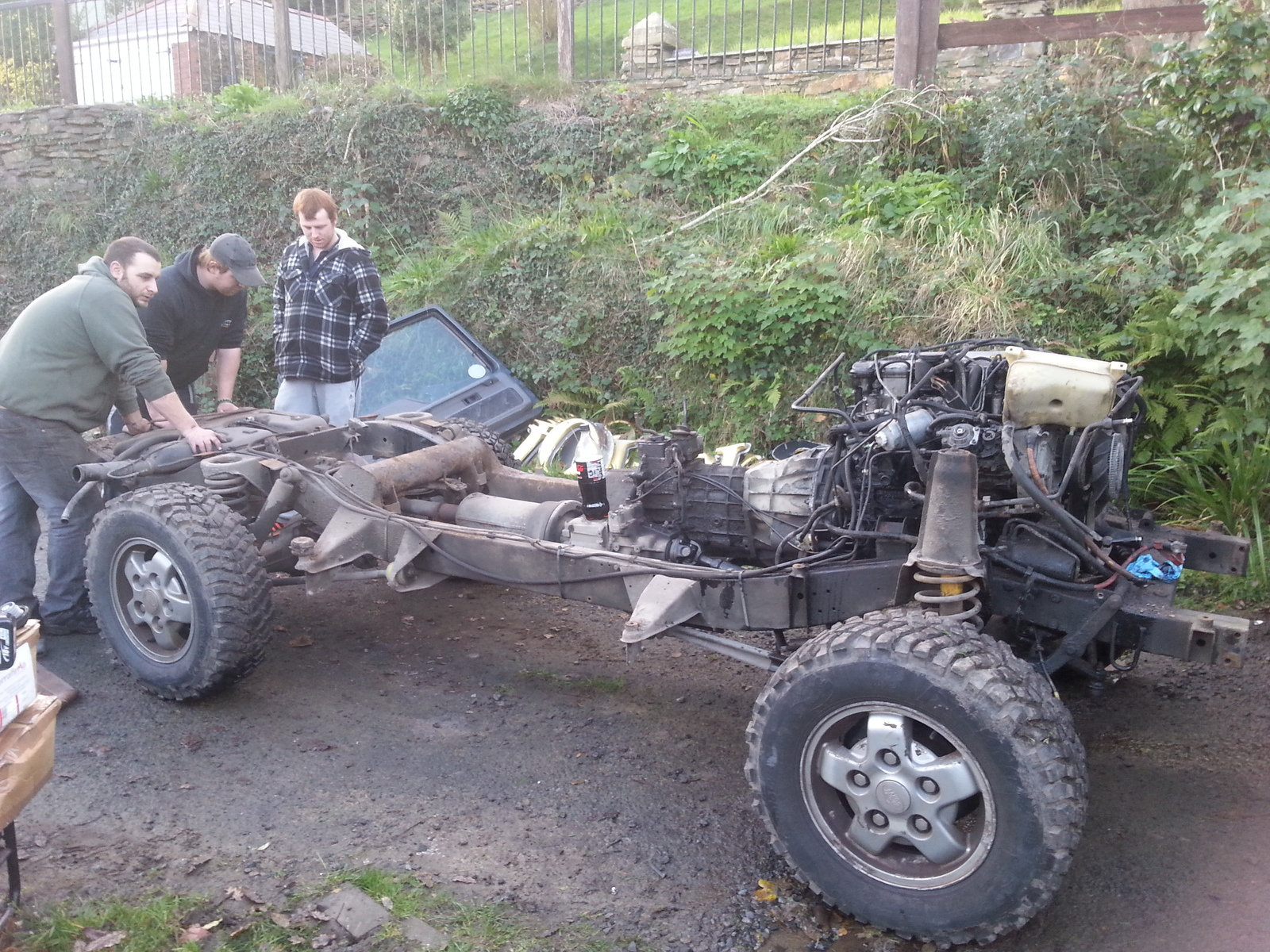 discovery 2 body on 300tdi chassis