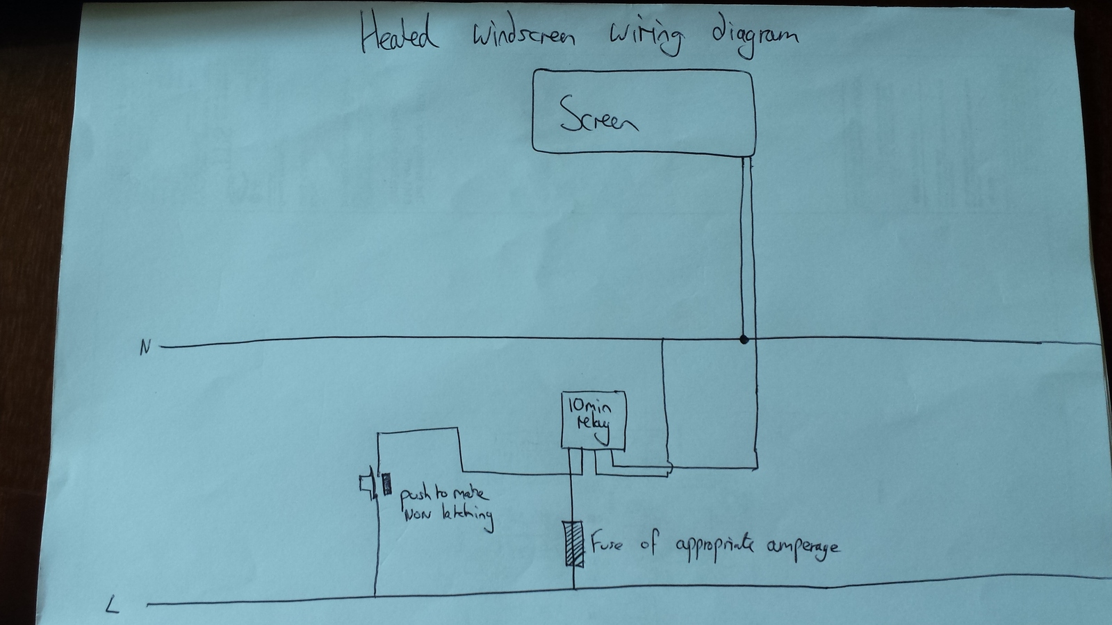Land Rover Heated Windscreen Wiring Diagram - Enthusiast Wiring ...
