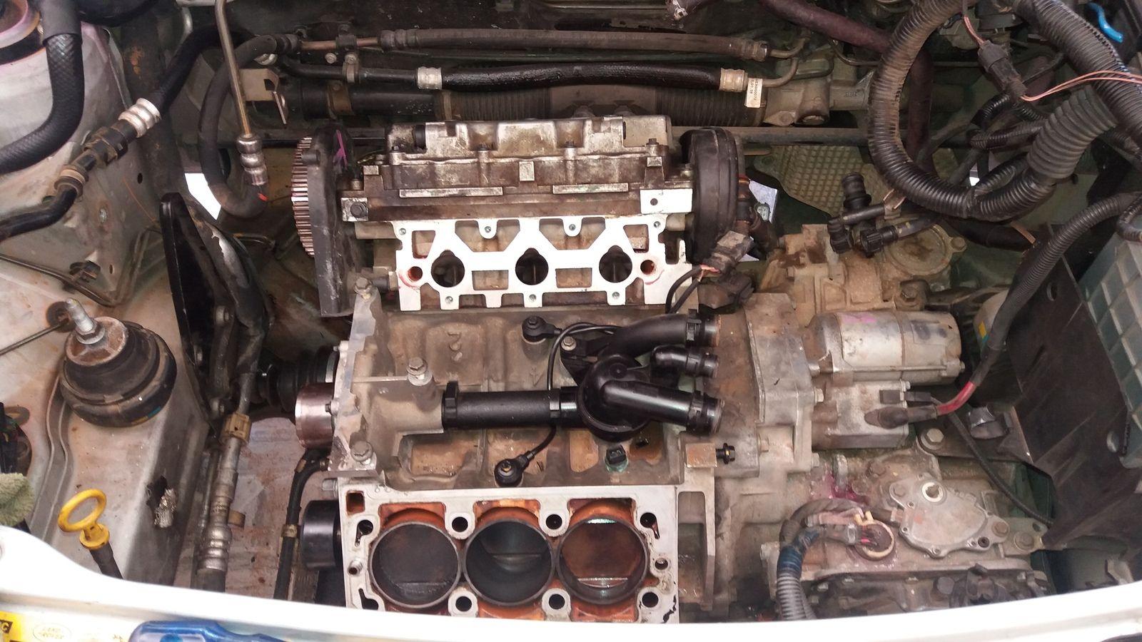 Freelander 1 KV6 Head Gasket rusted
