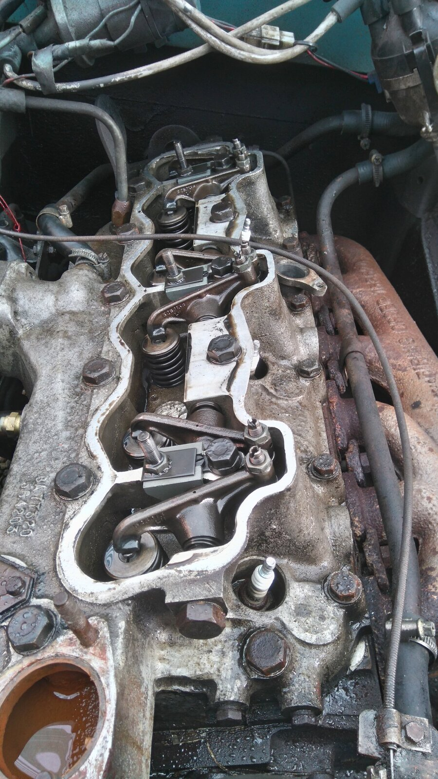 Series 3 2 6 6 cyl cylinder head gasket replacement
