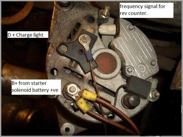 Alternator help, charge light | LandyZone - Land Rover Forum on