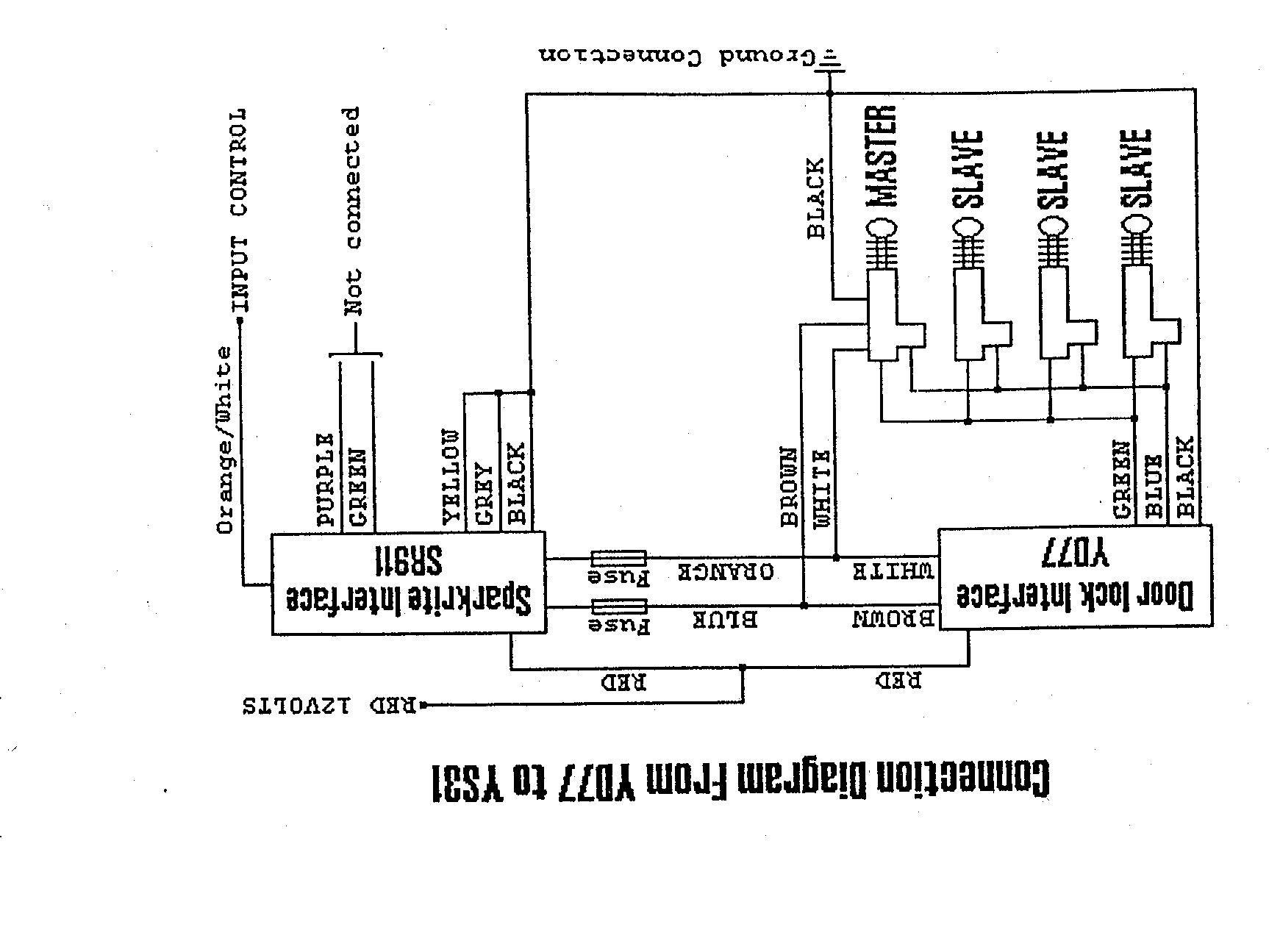 5 wire actuator diagram