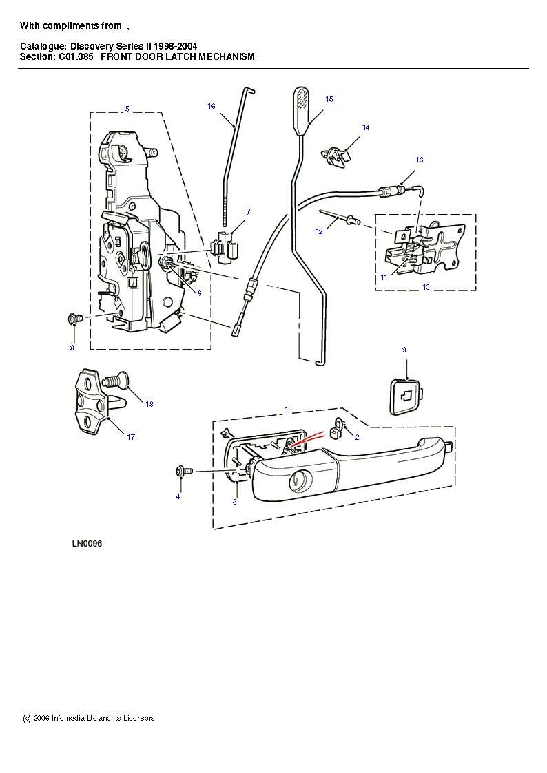 Door lock TD5 Disco | LandyZone - Land Rover Forum