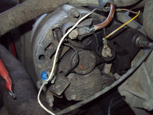 alternator wireing help – Land Rover Discovery Alternator Wiring