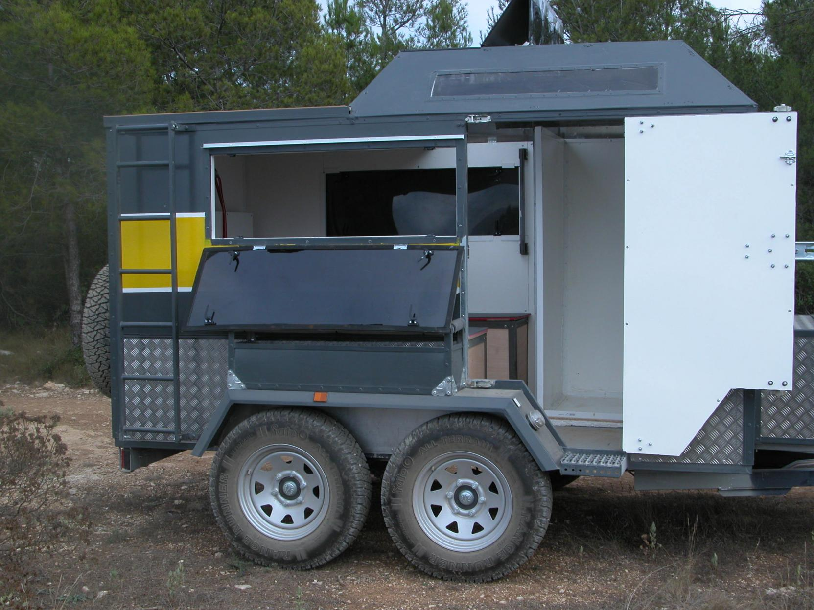 Self Build Overland Camping Trailer