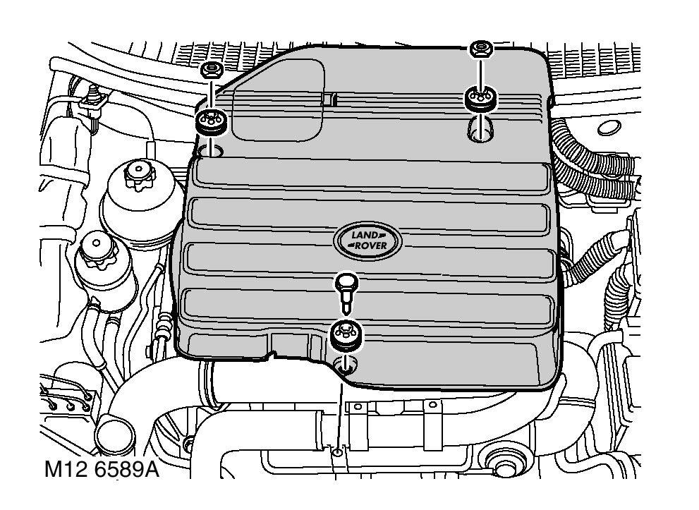 td4 engine cover bolts landyzone land rover forum rh landyzone co uk 2014 Land Rover Freelander Land Rover Freelander 2005