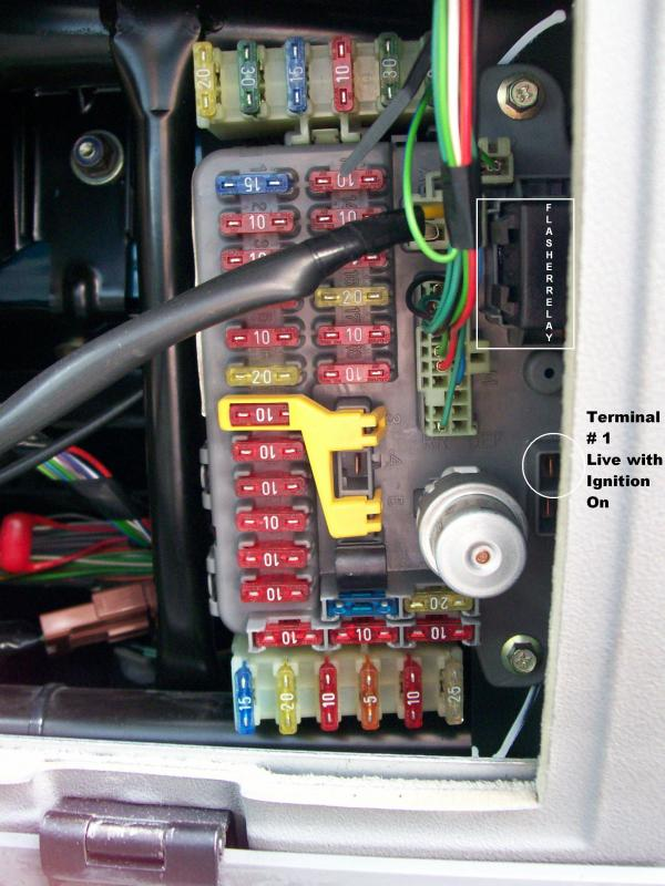 300tdi where to take power from fusebox area? landyzone land land rover discovery 1 fuse box at cos-gaming.co