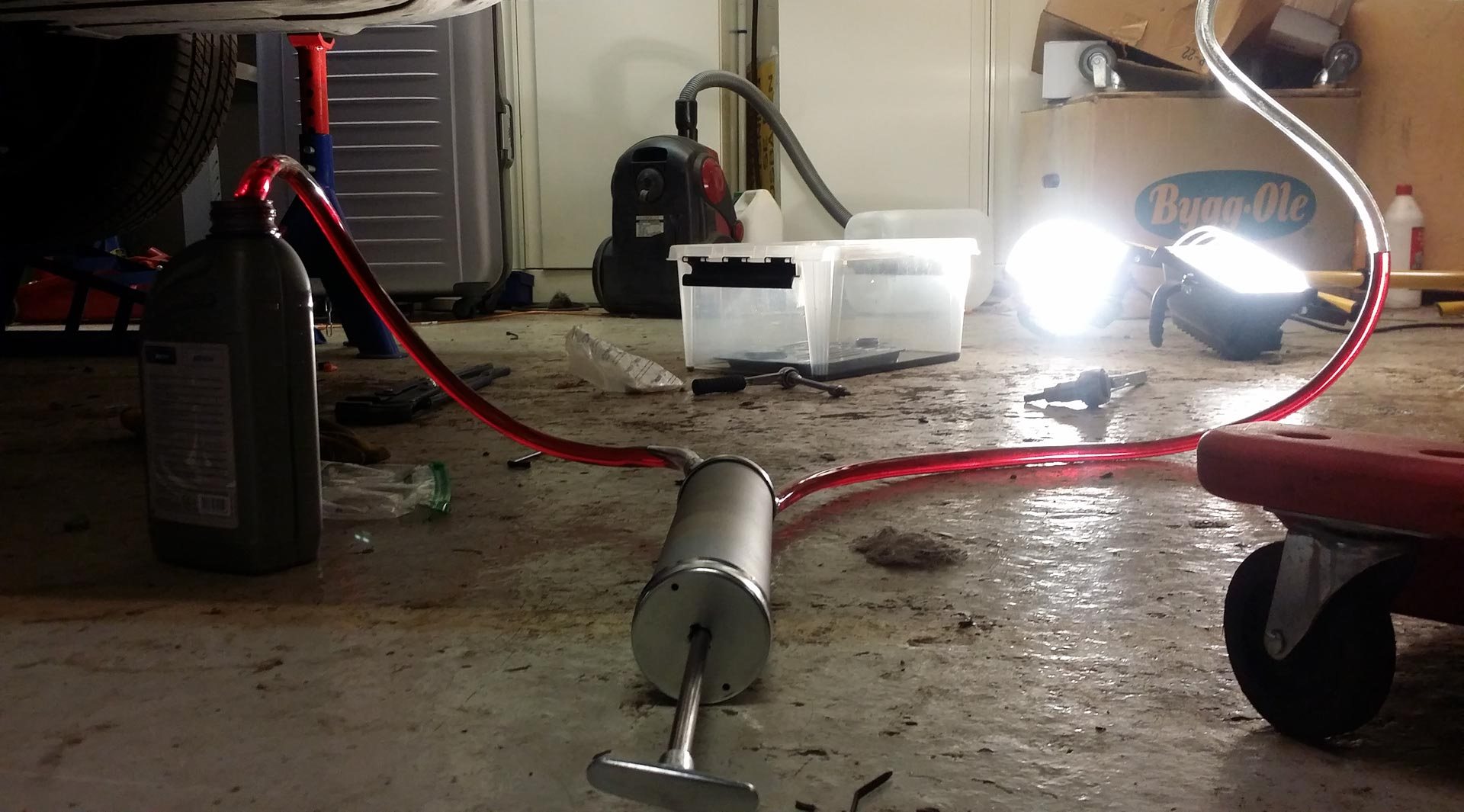 ZF5HP24 Fluid drain and Filter Change