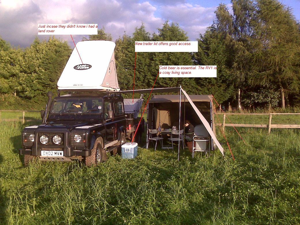 full set up rv1.JPG & Oztent | LandyZone - Land Rover Forum