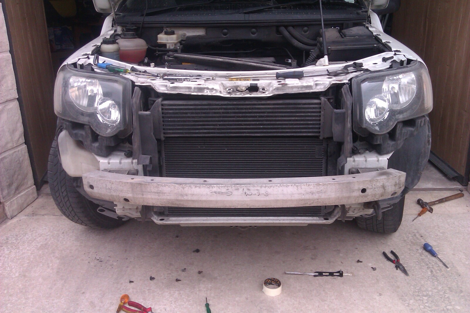 forum threads rover radiator landrover portal img expedition clean land discovery very