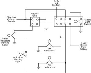 land rover indicator wiring diagram enthusiast wiring diagrams u2022 rh rasalibre co Land Rover Discovery Parts Diagram land rover series 2 indicator wiring diagram