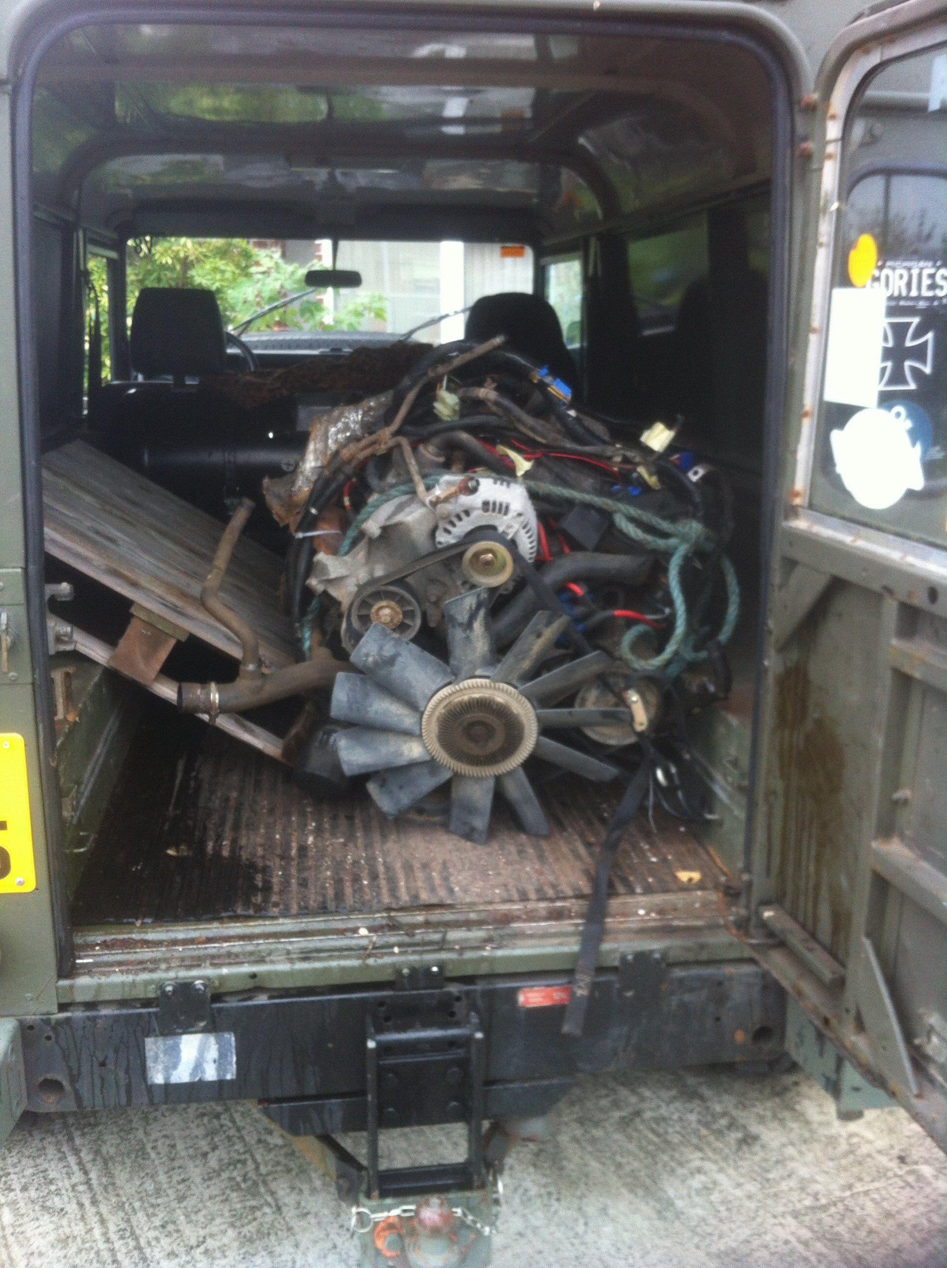 Serp 3 9efi Disco Engine Into Defender 110 V8 Idiots Guide