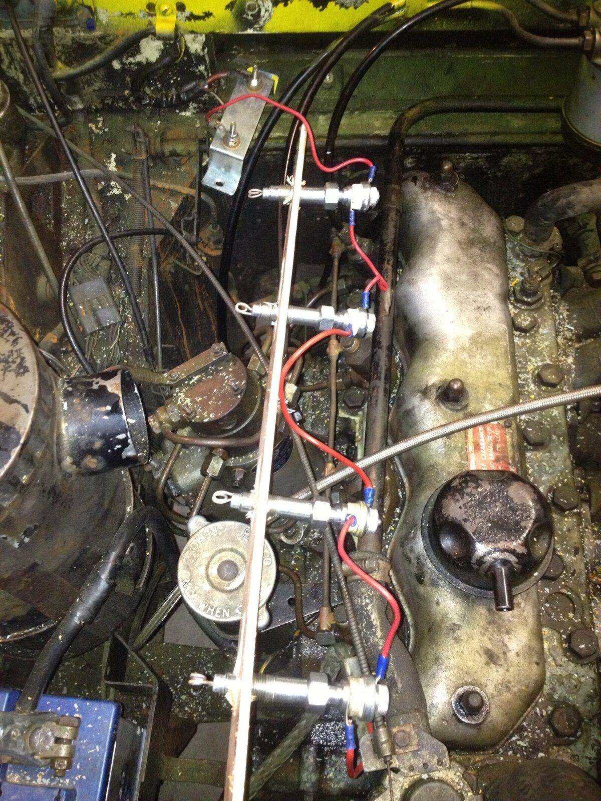 225 Diesel Glow Plug Problems Landyzone Land Rover Forum Series Iii Wiring Img 1032