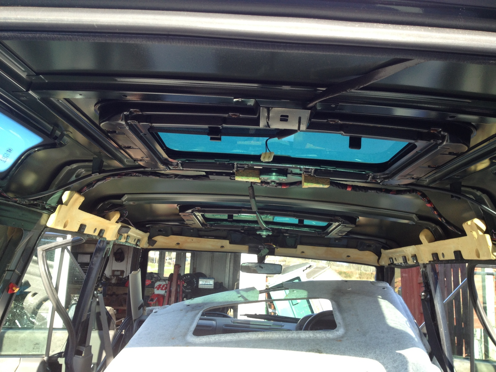 Range Rover P38 Seats into Disco 2 Full weekends work