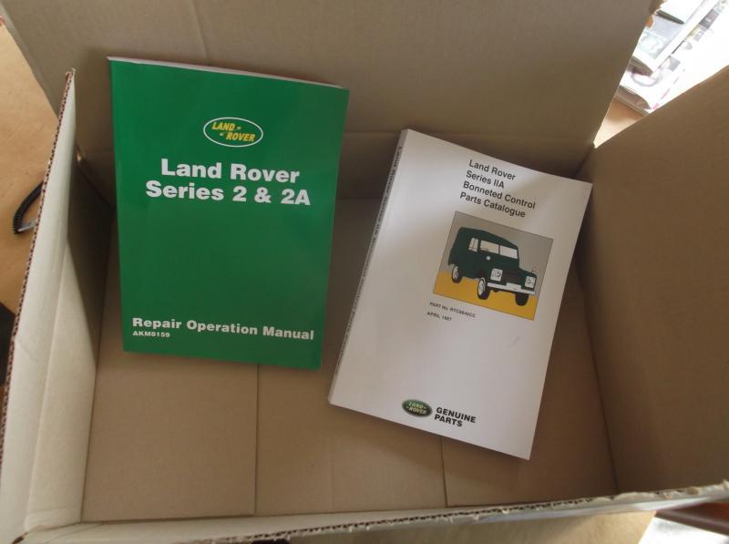 Land rover series 2a bookks.JPG