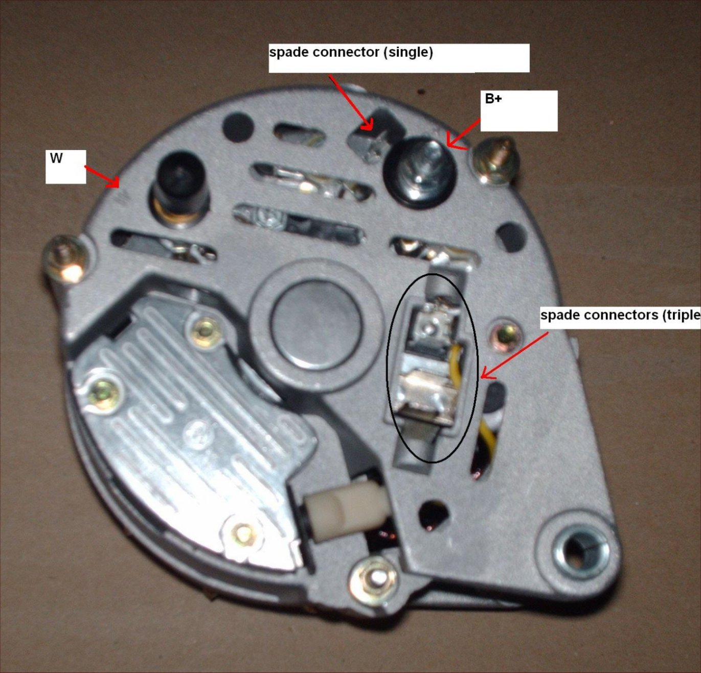 110 Diesel Alternator wiring help PLEASE – Land Rover Discovery Alternator Wiring
