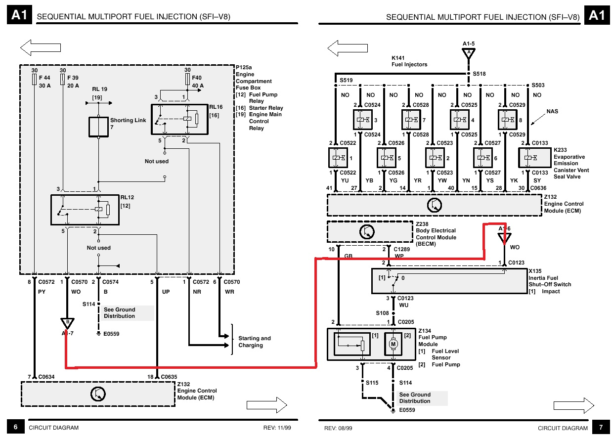 Range Rover P38 Wiring Diagram Another Blog About Fuse 30 Images Radio