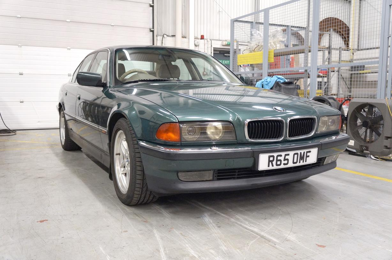 For Sale - 1997 BMW 740I AUTO GREEN E38 4.4 V8 M62B44   LandyZone ...