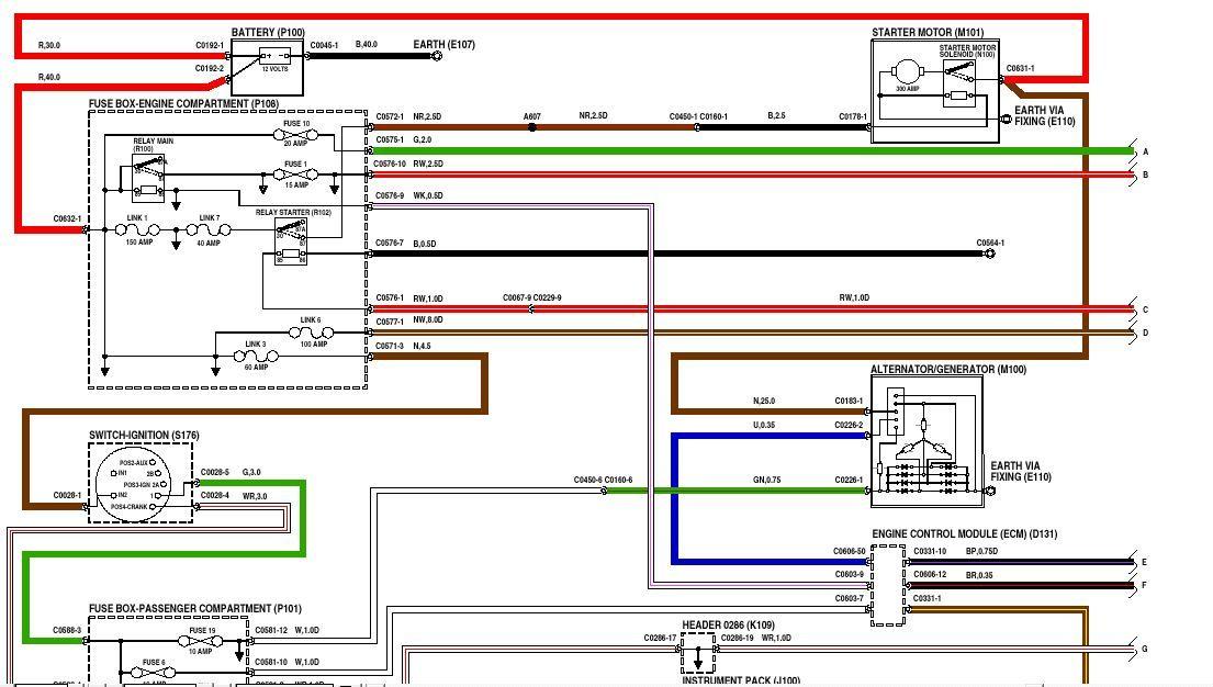 Diagram  Land Rover Lander Td4 Wiring Diagram Full