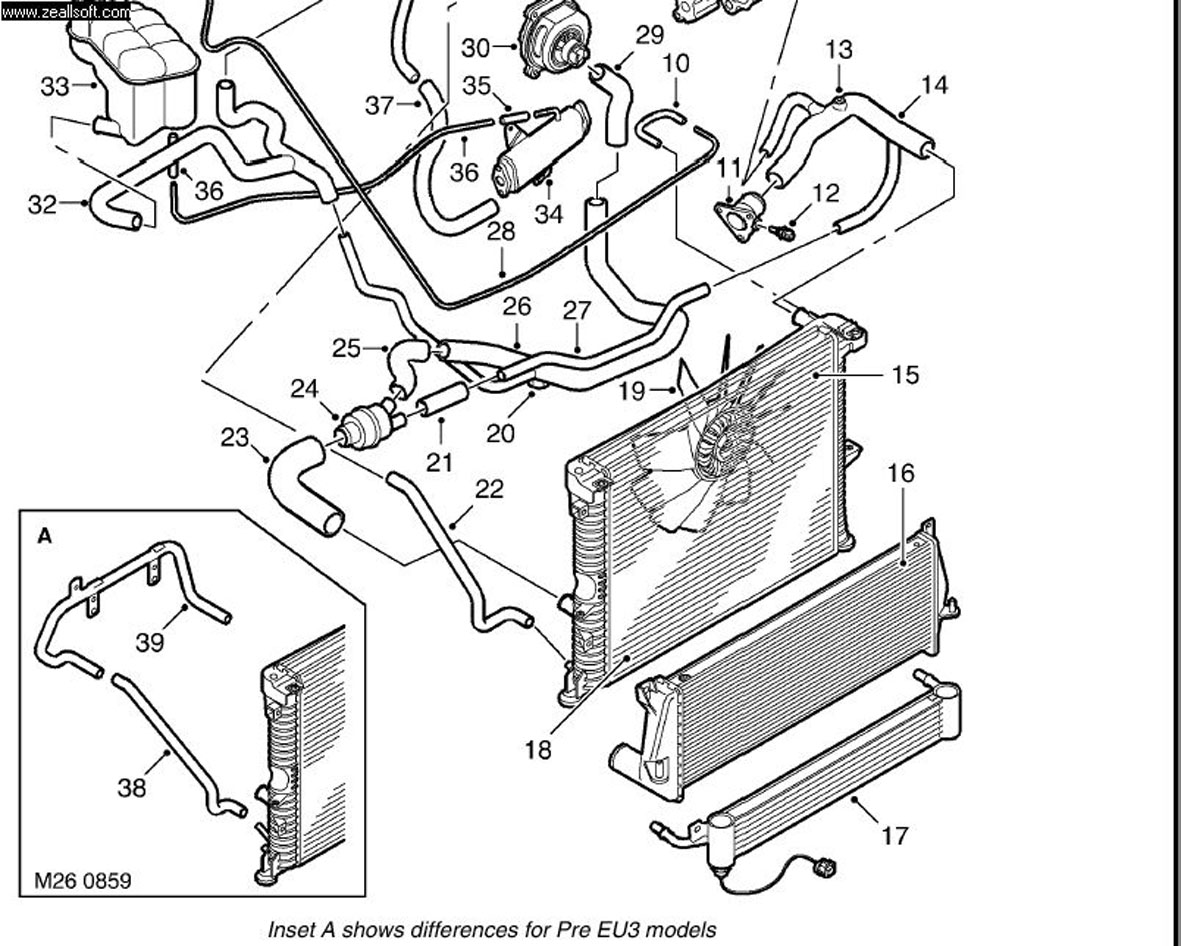 Rover Engine Cooling Diagram : Acura tsx engine wiring harness rsx