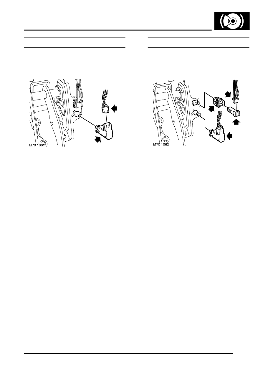 freelander brake light problem