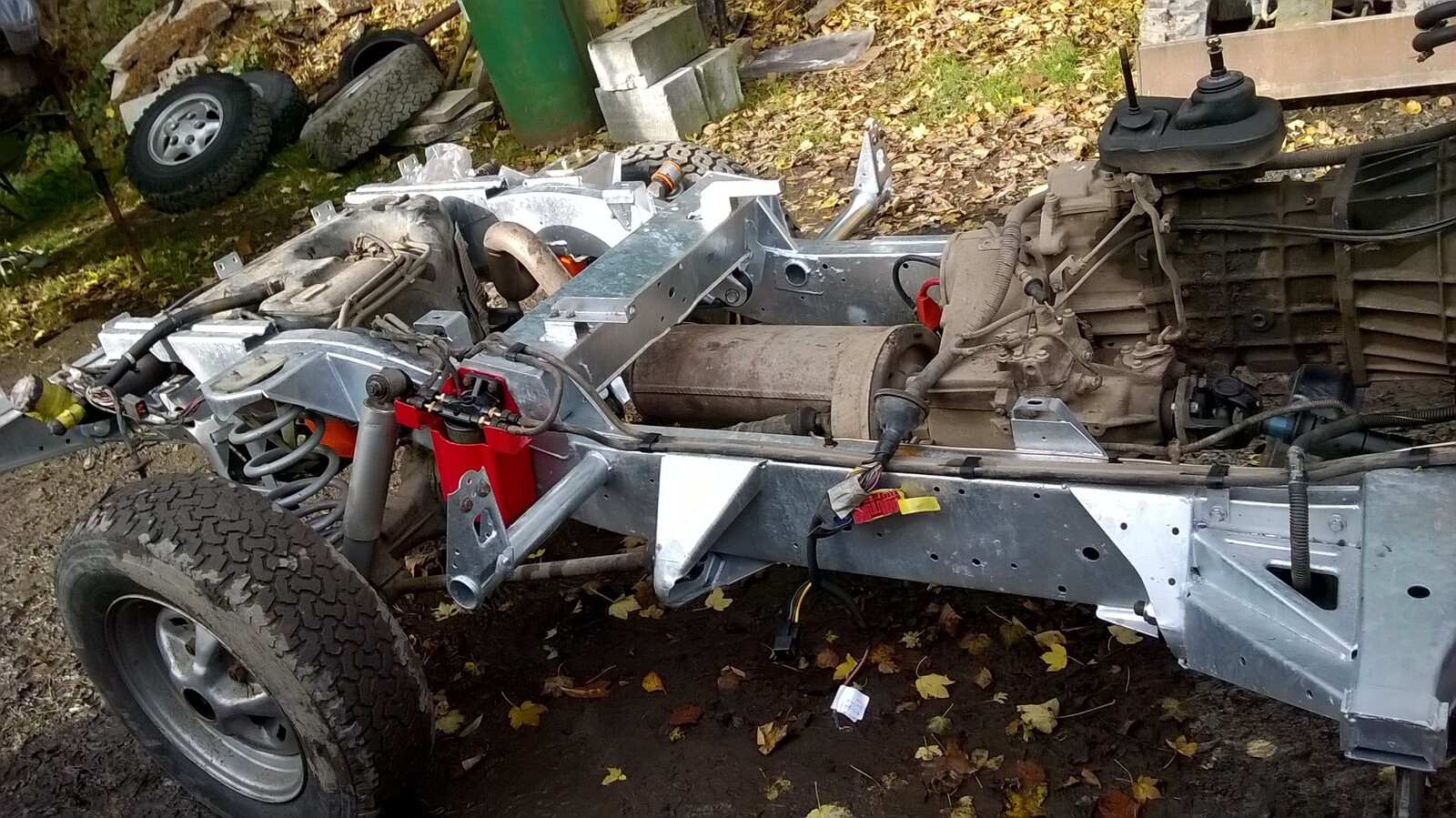 New Richards Chassis Page 2 Landyzone Land Rover Forum